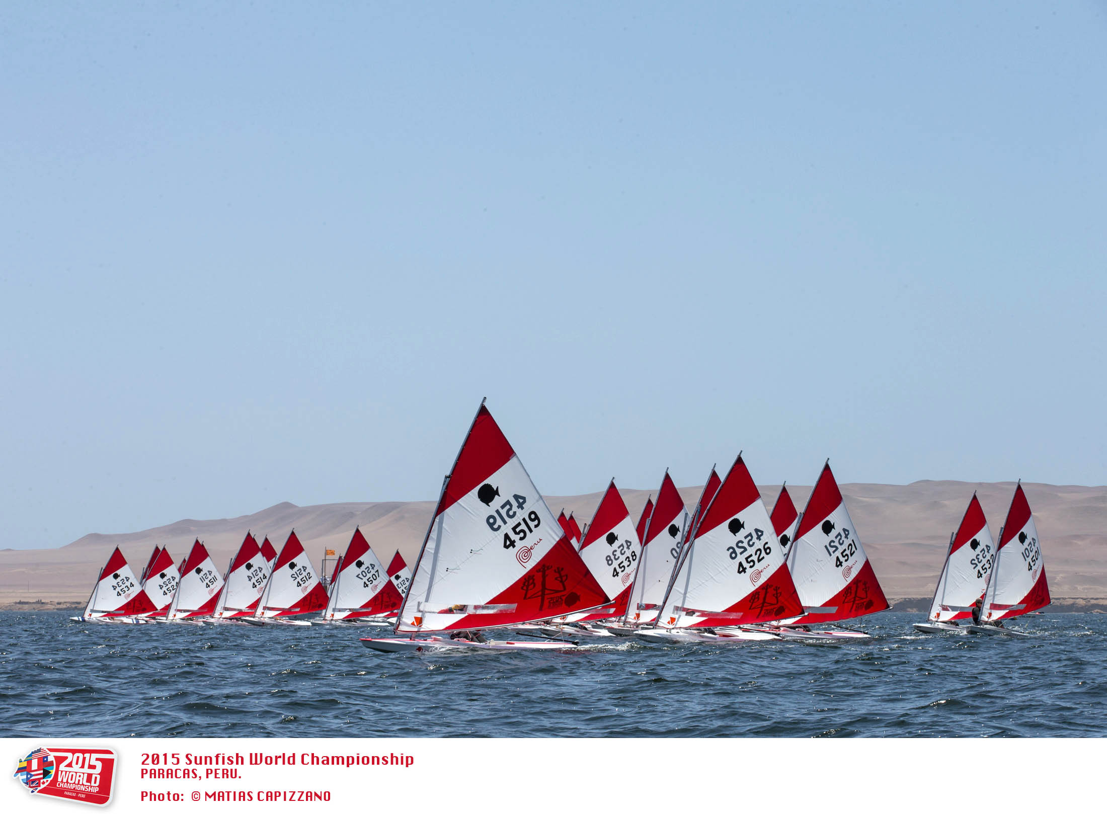 2015 Youth Worlds - Paracas, Peru